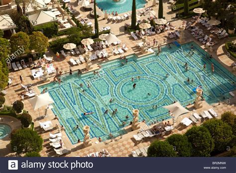 The Swimming Pools At The Bellagio Hotel, Las Vegas Usa