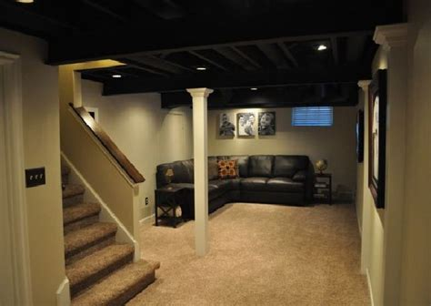 Basement Finishing Ideas That Won't Empty Your Wallet How To Instal Laminate Floor Snap Together Flooring Floors Vs Hardwood Pergo Sale Alloc Original Steam Cleaning Uneven Tropical