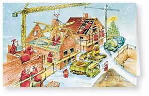 Bilder Hausbau Comic : weihnachtskarte branchenkarte hausbau neubau handwerker weihnachten weihnachtskarten ~ Markanthonyermac.com Haus und Dekorationen