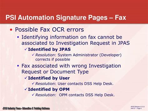 ppt electronic of signature pages developed