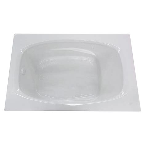 45 ft drop in bathtub universal tubs tiger s eye 6 ft acrylic center drain