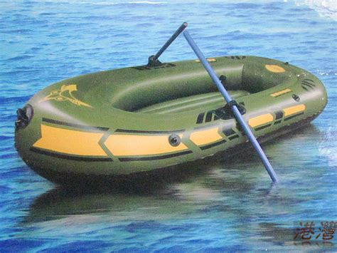 Inflatable Fishing Boat Accessories by Thickened Small Number Inflatable Fishing Boat With Life