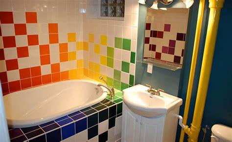 15 Lively Multicolored Bathroom Designs  Home Design Lover