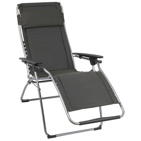 fauteuil relax futura clippe ardoise lafuma achat vente chaise longue fauteuil relax