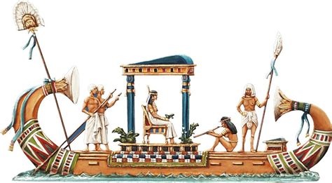 Purchase Boats Online by Berliner Zinnfiguren Ancient Egyptian Nile Boat Of A