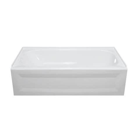 lyons elite 60 quot x 32 quot x 19 quot right drain bathtub at menards 174