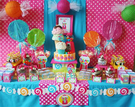 Amanda's Parties To Go Sweet Shoppe Party Candyland