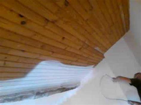 a k d 233 co peinture d un plafond en lambris au pistolet airless a montauban 82000