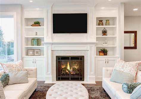 small living room ideas decorating tips to make a room feel bigger book shelves fireplaces