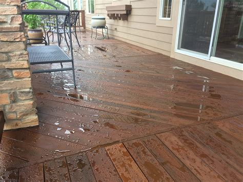 hardwood deck refinishing colorado deck master