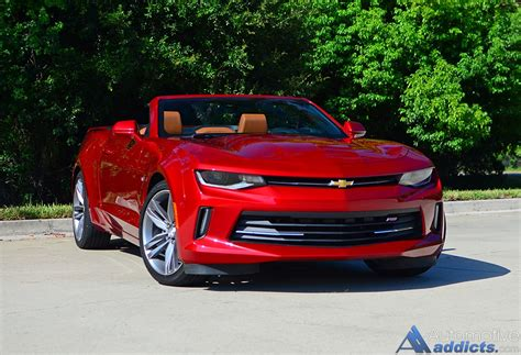 2016 Chevrolet Camaro 2lt Rs V6 Convertible Review & Test
