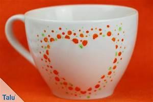 Porzellan Bemalen Anleitung : porzellan keramik bemalen anleitung und sch ne ideen ~ Markanthonyermac.com Haus und Dekorationen