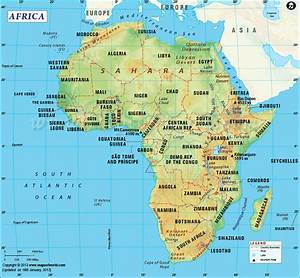 Second-largest continent, area of 11,668,599 sq miles ...