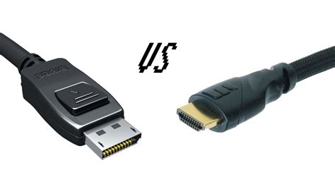 displayport vs hdmi what s the difference pc advisor