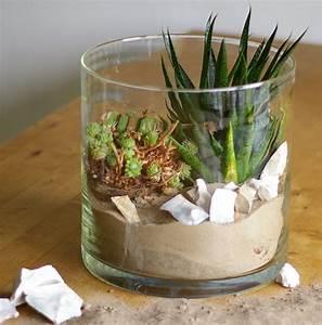 Neue Deko Ideen : wohnen mit pflanzen deko ideen im glas recyclingkunst und der versuch langsam und ~ Markanthonyermac.com Haus und Dekorationen