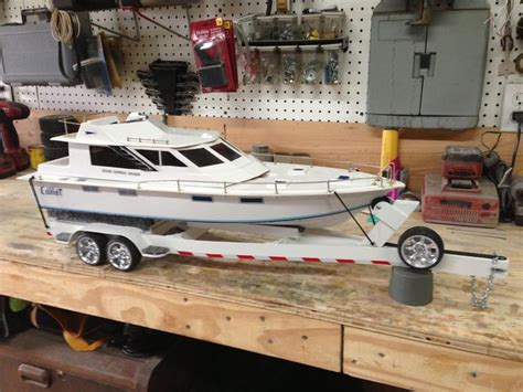 Toy Fishing Boat And Trailer by Rc Boat Trailer Rc Boats Pinterest Boats Trailers