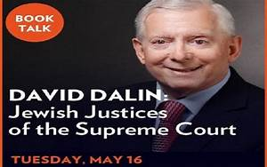 Book Talk: Jewish Justices of the Supreme Court | The New ...