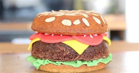 vid 233 o cuisine comment faire un g 226 teau burger la vid 233 o d un dessert facile et original