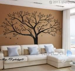 family tree wall sticker vinyl home decals room decor mural branch ebay