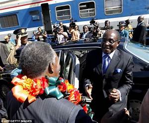 Mugabe motorcade hits homeless man and bodyguard in TWO ...