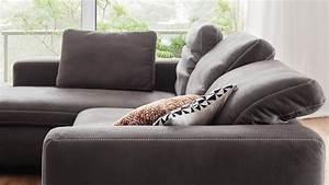 Ecksofa Mit Verstellbarer Rückenlehne : ecksofa lakewood in stoff anthrazit inkl verstellbare r ckenlehne ~ Markanthonyermac.com Haus und Dekorationen