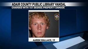Adair County Public Library vandal charged | KTVO