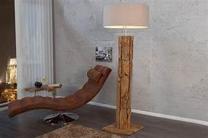 Stehlampe Aus Treibholz : massive teakholz stehlampe roots sand treibholz lampe h henverstellbar riess ~ Markanthonyermac.com Haus und Dekorationen