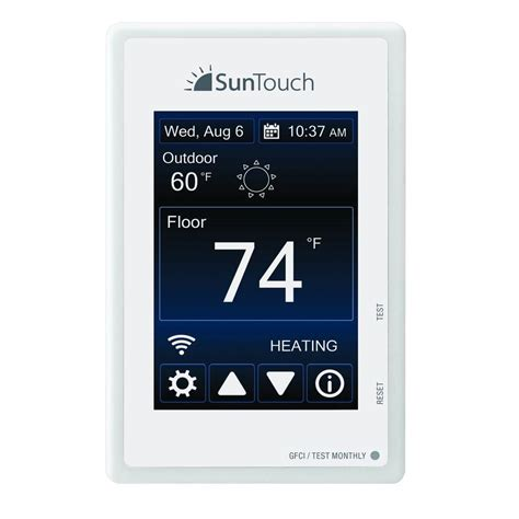 suntouch floor warming sunstat connect wi fi programmable