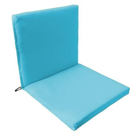 back seat outdoor waterproof chair pad cushion garden patio furniture w ties ebay