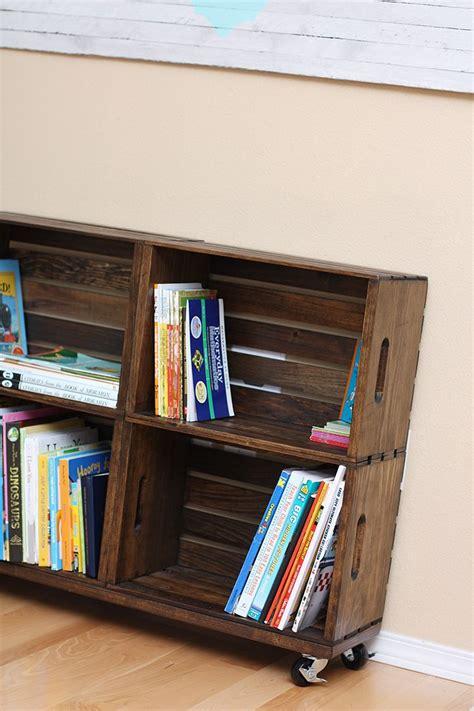 Diy Wooden Crate Bookcase {sew Much Ado}  Prayer Room