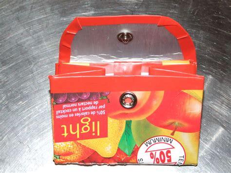 porte monnaie brique de lait 1 photo de recup syst 233 me g