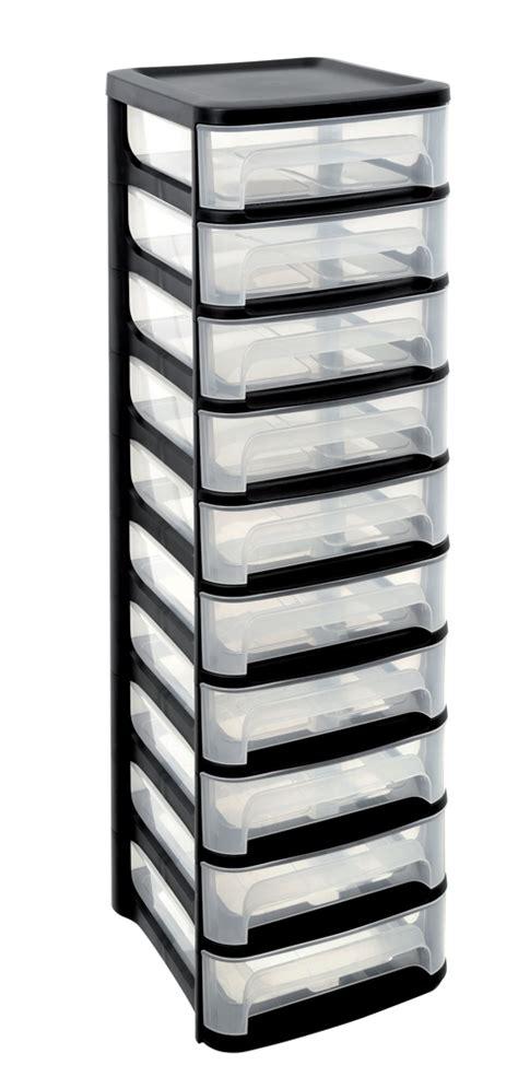 meuble en plastique a tiroir palzon