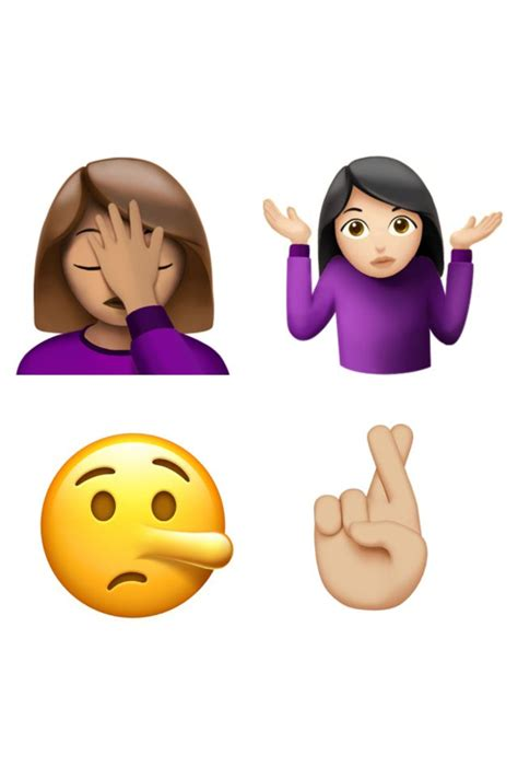 Here's A First Look At The New Emojis Coming To Iphones