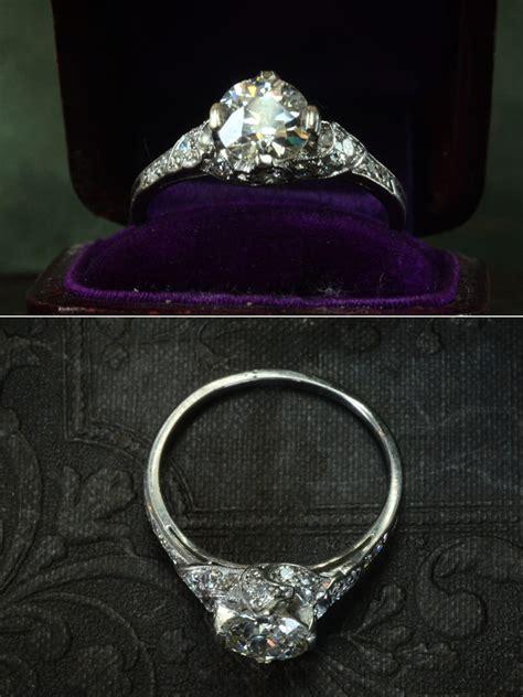 vintage engagement ring pressedinbrooklyn