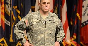 Gen. Mark Milley picked for Army chief of staff