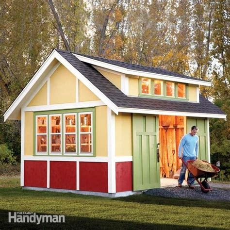 How To Build A Shed 2011 Garden Shed  Gardens, The
