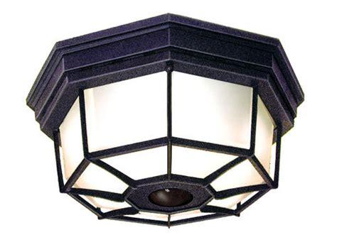 heath zenith octagonal 360 degree decorative ceiling light motion detector at menards 174