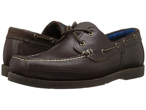 Timberland Men S Piper Cove Boat Shoes by Timberland Piper Cove Leather Boat Shoe In Brown For Men