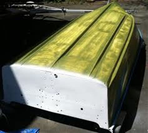 How To Remove Old Paint From Aluminum Boat by Painting Aluminum Boats Boat Trader Waterblogged