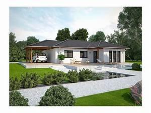 Haus Bungalow Modern : life 110 l walmdach einfamilienhaus von bau mein haus vertriebsges mbh hausxxl fertighaus ~ Markanthonyermac.com Haus und Dekorationen