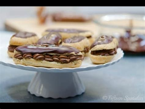 chocolate eclairs recipe with chocolate pastry eclairs