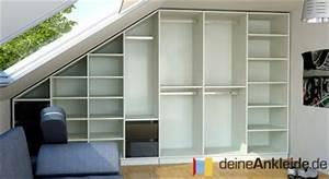 Ankleide Mit Dachschräge : einbauschr nke f r dachschr gen ~ Markanthonyermac.com Haus und Dekorationen