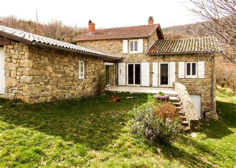 maison 224 vendre en rhone alpes ardeche st felicien charmante maison isol 233 e sur 6 4 hectares de
