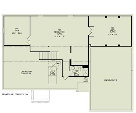 princeton 103 drees homes interactive floor plans custom homes without the custom price