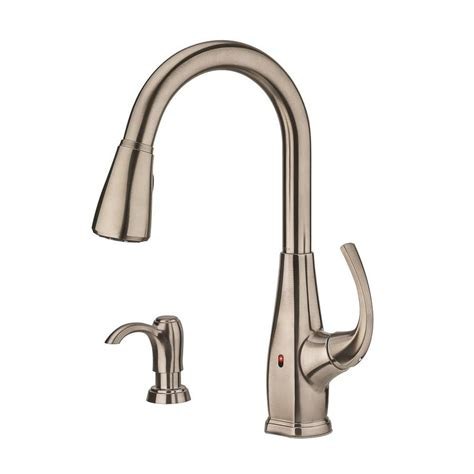 Pfister Kitchen Faucet Touchless by Shop Pfister Selia Stainless Steel 1 Handle Pull