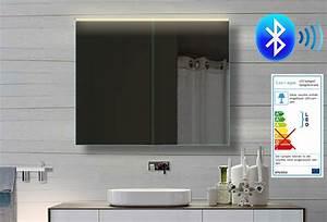 Bluetooth Lautsprecher Badezimmer : alu badezimmer spiegelschrank led und bluetooth lautsprecher 82x70cm bhc82h70 ebay ~ Markanthonyermac.com Haus und Dekorationen