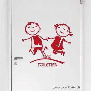 Toilette Für Kinder : wandtattoos schilder piktogramme von wandtasie toiletten kinder ~ Markanthonyermac.com Haus und Dekorationen