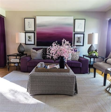 1000 ideas about purple grey rooms on