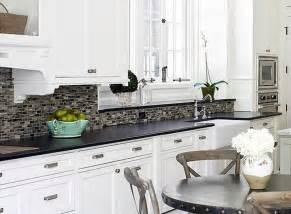backsplash for white cabinets and black granite countertops kitchen re do black