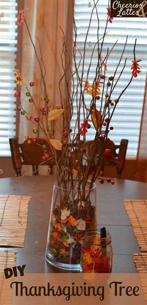 28 Great Diy Decor Ideas For The Best Thanksgiving Holiday  Amazing Diy, Interior & Home Design